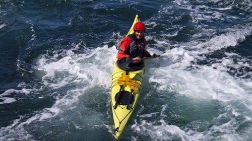 Fun, safe, kayaking
