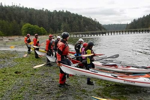 Paddling Classes in Anacortes